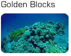 Golden Blocks og Moray Gardens i Dahab